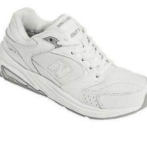 New Balance Shoes - New Balance 927 White Leather Walking Shoes 677872ec8